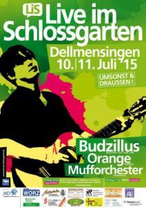 Schloßgarten-Festival in Dellmensingen! Umsonst und Draußen!